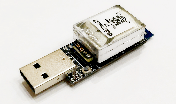 image from CO2 (carbon dioxide) Zigbee sensor
