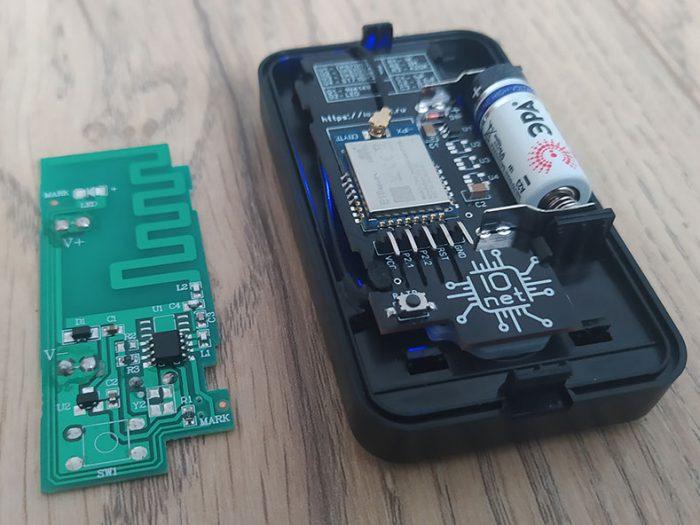 image from Reed Zigbee sensor